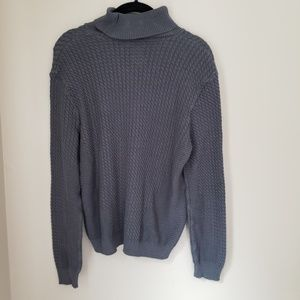 ASOS ] comfy gray knit turtleneck sweater